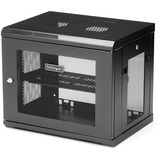 StarTech.com 9U Wallmount Server Rack Cabinet - Wallmount Network Cabinet - 14.6 in Deep - Wall-mount your server equ (RK9WALM)