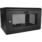 StarTech.com 6U Wallmount Server Rack Cabinet - Server Rack Enclosure - Wallmount Network Cabinet - Up to 14.8 in. De (RK616WALM)