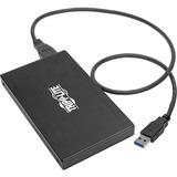 Tripp Lite USB 3.1 Gen 1 5 Gbps SATA SSD/HDD USB-A Enclosure Adapter w/ UASP - 1 x Total Bay - 1 x 2.5IN Bay - UASP S (U457-025-AG2)