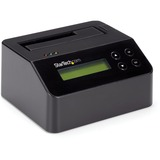 StarTech.com Hard Drive Eraser and Docking Station Standalone - 4Kn Support - TAA - 2.5 / 3.5 SATA SSD/HDD Dock & Wip (SDOCK1EU3P2)