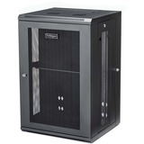 StarTech.com Wallmount Server Rack Cabinet - Hinged Enclosure - Wallmount Network Cabinet - 20 in. Deep - 18U - Use t (RK1820WALHM)