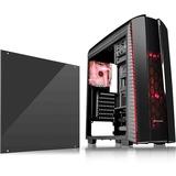 Thermaltake Versa N27 Computer Case - Mid-tower - Black - SPCC - 6 x Bay - 3 x 4.72IN x Fan(s) Installed - ATX, Micro (CA-1H6-00M1WN-02)