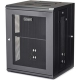 StarTech.com Wallmount Server Rack Cabinet - Hinged Enclosure - 15U - Wallmount Network Cabinet - 20in Deep - Use thi (RK1520WALHM)