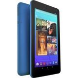 Ematic EGQ373 Tablet - 7IN - 1 GB Quad-core (4 Core) 1.20 GHz - 16 GB - Android 7.1 Nougat - 1024 x 600 - Blue - 128: (EGQ373BU)