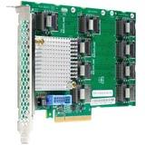 HPE DL38X Gen10 12Gb SAS Expander - 12Gb/s SAS, Serial ATA/600 - PCI Express 3.0 x8 - Plug-in Card - 9 Total SAS Port (870549-B21)