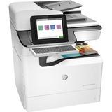 HP PageWide Enterprise 785f Page Wide Array Multifunction Printer - Color - Plain Paper Print - Desktop - Copier/Fax/ (J7Z11A#B1H)
