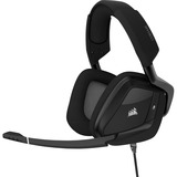 Corsair VOID PRO RGB USB Headset - Stereo - Carbon - USB - Wired - 32 Kilo Ohm - 20 Hz - 20 kHz - Over-the-head - Bin (CA-9011154-NA)