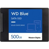 WD Blue 3D NAND 500GB PC SSD - SATA III 6 Gb/s 2.5IN/7mm Solid State Drive - 560 MB/s Maximum Read Transfer Rate - 53 (WDS500G2B0A)