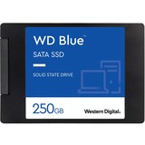 WD Blue 3D NAND 250GB PC SSD - SATA III 6 Gb/s 2.5IN/7mm Solid State Drive - 550 MB/s Maximum Read Transfer Rate - 52 (WDS250G2B0A)