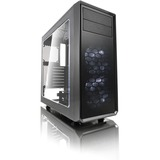 Fractal Design Focus G Computer Case with Windowed Side Panel - Mid-tower - Gunmetal Gray - Steel - 5 x Bay - 2 x 4.7 (FD-CA-FOCUS-GY-W)