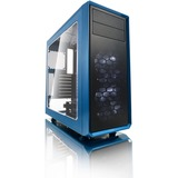 Fractal Design Focus G Computer Case with Windowed Side Panel - Mid-tower - Petrol Blue - Steel - 5 x Bay - 2 x 4.72I (FD-CA-FOCUS-BU-W)