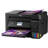 Epson WorkForce ET-3750 Inkjet Multifunction Printer - Color - Plain Paper Print - Desktop - Copier/Printer/Scanner - (C11CG20201)