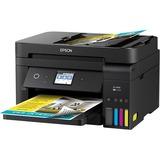 Epson WorkForce ET-4750 Inkjet Multifunction Printer - Color - Plain Paper Print - Desktop - Copier/Fax/Printer/Scann (C11CG19201)