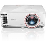 BenQ TH671ST 3D Ready Short Throw DLP Projector - 1080p - HDTV - 16:9 - Front - 240 W - 4000 Hour Normal Mode - 10000 (TH671ST)