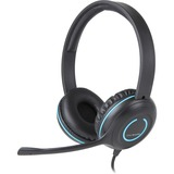 Cyber Acoustics AC-5008 USB Stereo Headset - Stereo - USB - Wired - 20 Hz - 20 kHz - Over-the-head - Binaural - Supra (AC-5008)