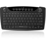 IOGEAR Wireless Smart TV Keyboard with Trackball - Wireless Connectivity - RF - USB InterfaceTrackball - Compatible w (GKB635W)