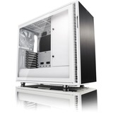 Fractal Design Define R6 Computer Case - Mid-tower - White, Black - Steel, Tempered Glass - 9 x Bay - 3 x 5.51IN x Fa (FD-CA-DEF-R6-WT-TG)