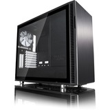 Fractal Design Define R6 Computer Case - Mid-tower - Black - Steel, Tempered Glass - 9 x Bay - 3 x 5.51IN x Fan(s) In (FD-CA-DEF-R6-BK-TG)