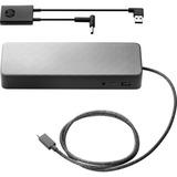HP Docking Station - for Notebook/Tablet PC - 90 W - USB Type C - 5 x USB Ports - 3 x USB 2.0 - 1 x USB 3.0 - Network (2UF95UT#ABA)