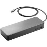 HP Docking Station - for Notebook - 90 W - USB Type C - Docking (3DV65UT#ABA)
