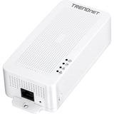 TRENDnet Powerline 200 AV PoE+ Adapter - 1 x Network (RJ-45) - PoE Ports - 200 Mbit/s Powerline - 984.25 ft Distance (TPL-331EP)