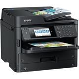 Epson WorkCentre Pro ET-8700 Inkjet Multifunction Printer - Color - Plain Paper Print - Desktop - Copier/Fax/Printer/ (C11CG39201)