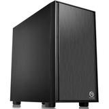 Thermaltake Versa H17 Micro Case - Mini-tower - Black - SPCC - 4 x Bay - 1 x 4.72IN x Fan(s) Installed - 0 - Mini ITX (CA-1J1-00S1NN-00)