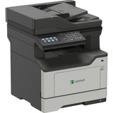 Lexmark MX420 MX421ade Laser Multifunction Printer - Monochrome - Plain Paper Print - Desktop - Copier/Fax/Printer/Sc (36S0700)