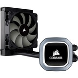 Corsair Hydro Series H60 (2018) 120mm Liquid CPU Cooler - 1 x 120 mm - 1700 rpm57.2 CFM - 28.3 dB(A) Noise - Liquid C (CW-9060036-WW)