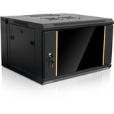 Claytek WMZ655-PP24C6 Rack Cabinet - 6U Wide x 16in (406.40 mm) Deep Wall Mountable for Server - Cold-rolled Steel (C (RRCM44UD)