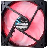 Fractal Design Silent Series LL Red 120mm - 120 mm - 1200 rpm41.8 CFM - 24.8 dB(A) Noise - Sleeve Bearing - 3-pin - R (FD-FAN-SSLL-120-RD)