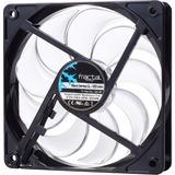 Fractal Design Silent Series LL White 120mm - 120 mm - 1200 rpm41.8 CFM - 24.8 dB(A) Noise - Sleeve Bearing - 3-pin - (FD-FAN-SSLL-120-WT)