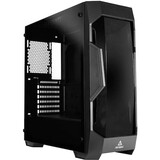 Antec Dark Fleet DF500 RGB Computer Case - Mid-tower - Tempered Glass, Plastic, Steel - 6 x Bay - 3 x 4.72IN x Fan(s) (DF500 RGB)