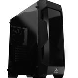 Antec Dark Fleet DF500 Computer Case - Mid-tower - Black - Plastic, Steel - 6 x Bay - 1 x 4.72IN x Fan(s) Installed - (DF500)