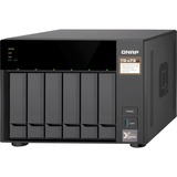 QNAP TS-673 SAN/NAS Storage System - AMD R-Series RX-421ND Quad-core (4 Core) 2.10 GHz - 6 x HDD Supported - 8 x SSD (TS-673-8G-US)