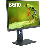 BenQ PhotoVue SW240 24.1IN LED LCD Monitor - 16:10 - 5 ms GTG - 1920 x 1200 - 1.07 Billion Colors - 250 Nit - 20,000, (SW240)