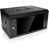 Claytek 4U 328mm Depth Wallmount Server Cabinet - 4U Wide x 10.50in (266.70 mm) Deep Wall Mountable for Server - Cold (U0M10PE)