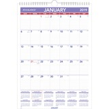 At-A-Glance Plan-A-Month Wall Calendar