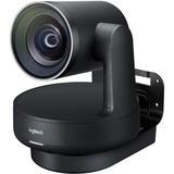 Logitech Video Conferencing Camera - 13 Megapixel - 60 fps - Matte Black, Slate Gray - USB 3.0 - 3840 x 2160 Video - (960-001226)