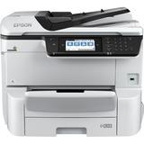 Epson WorkForce Pro WF-C8690 Inkjet Multifunction Printer - Color - Plain Paper Print - Desktop - Copier/Fax/Printer/ (U4SD8PE)