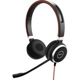 Jabra EVOLVE 40 UC Headset - Stereo - USB Type C - Wired - Over-the-head - Binaural - Supra-aural - Noise Canceling (6399-829-289)