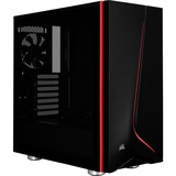 Corsair Carbide SPEC-06 Computer Case - Mid-tower - Black - Tempered Glass - ATX Motherboard Supported (CC-9011144-WW)