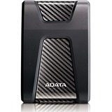 Adata DashDrive Durable HD650 AHD650-1TU31-CBK 1 TB Hard Drive - 2.5IN Drive - External - Portable - USB 3.1 - Black (AHD650-1TU31-CBK)