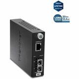 TRENDnet Intelligent 1000Base-T to 1000Base-FX Single Mode Fiber Converter