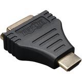 Tripp Lite HDMI to DVI Cable Adapter Converter Compact HDMI to DVI-D M/F - 1 x DVI-D Female Digital Video - 1 x HDMI (P132-000)