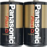 Panasonic D-Size Alkaline Plus Battery Pack