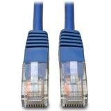 Tripp Lite Cat5e 350MHz Molded Patch Cable - (RJ45 M/M) - Blue, 1-ft.