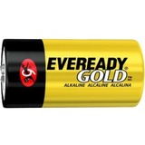 Eveready Size D Gold Alkaline General Purpose Battery - Alkaline - 1.5V DC