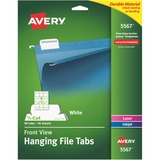 Avery 5567, Printable Hanging File Tabs, AVE5567