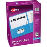 Avery 47986, Two-Pocket Folders w/o Fasteners, AVE47986